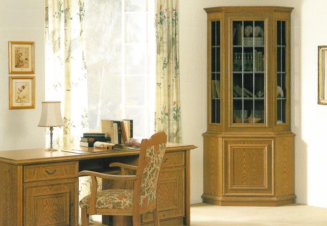 schreibtisch eiche rustikal schreibtisch eiche massiv farbton nach wunsch von cantus aus eiche. Black Bedroom Furniture Sets. Home Design Ideas
